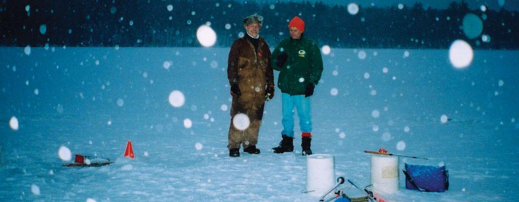 Ice fishing oneida countyoneida county for Wisconsin ice fishing resorts
