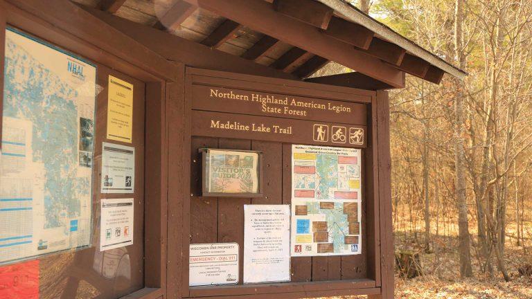 Madeline Trail sign