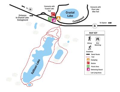 fallison lake map