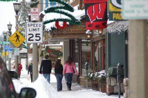 ONE minoqua downtown winter
