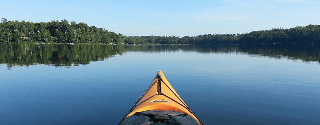 kayaking in Oneida