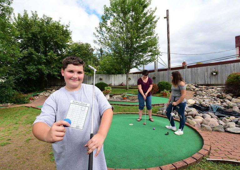 Attractions - Big Bear Mini Golf Tomahawk Wisconsin