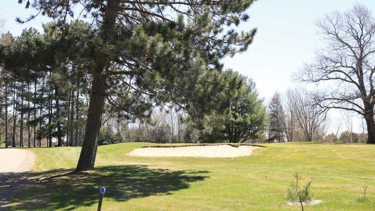 Big Stone Golf Course sand trap