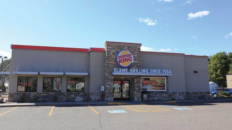 Burger King Minocqua exterior