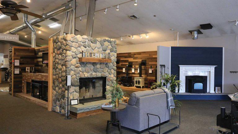 Fireside Hearth & Home inside shop