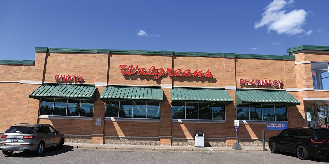 Walgreens Minocqua exterior of building