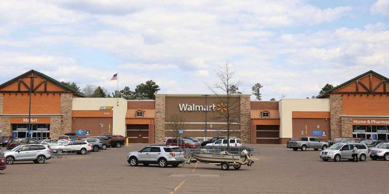 Walmart Minocqua parking lot