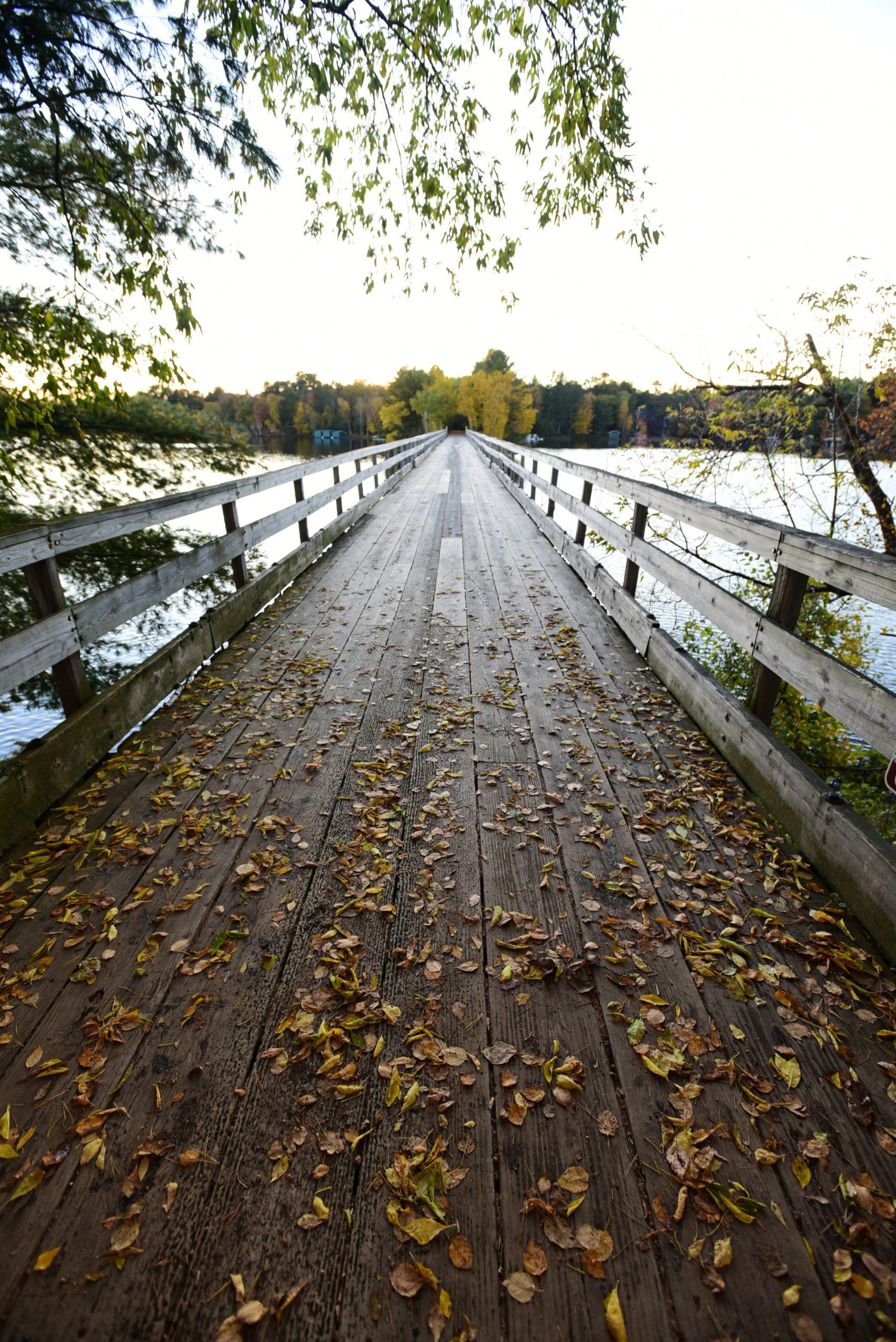 minocqua trestle bridge oneida county wi