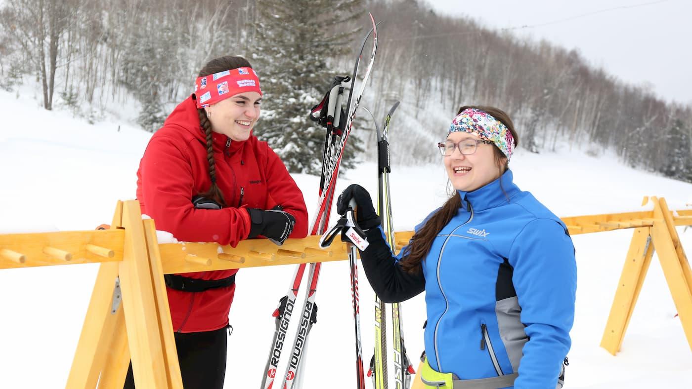 Skiing at Minocqua Winter Park Wisconsin
